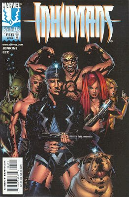 Inhumains # 4 Issues V2 (1998 - 1999)