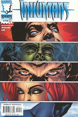 Inhumains # 10 Issues V2 (1998 - 1999)