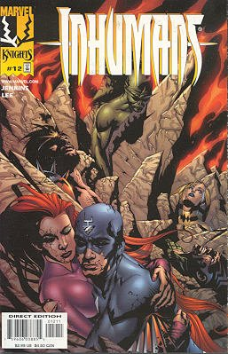 Inhumains # 12 Issues V2 (1998 - 1999)