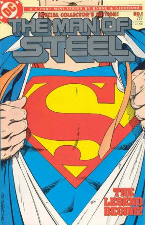 Man of Steel # 1 Issues V1 (1986)
