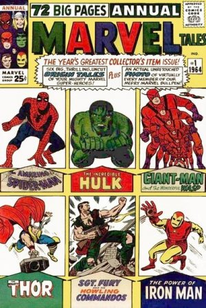 Marvel Tales 1 - Spiderman, Hulk, Giantman, Thor, Fury, Ironman
