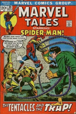 Marvel Tales 39 - The Tentacles and the Trap!