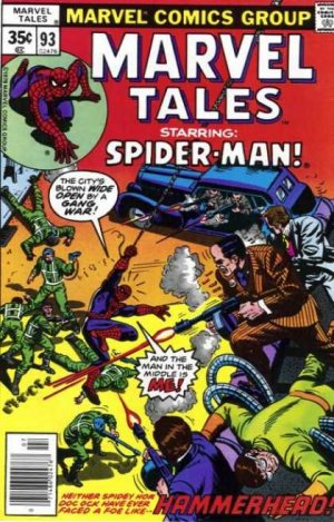 Marvel Tales 93 - Gang War, Shmang War! What I Want To Know Is... Who The Heck...