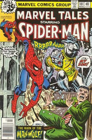 Marvel Tales 101 - The Mark of the Man-Wolf