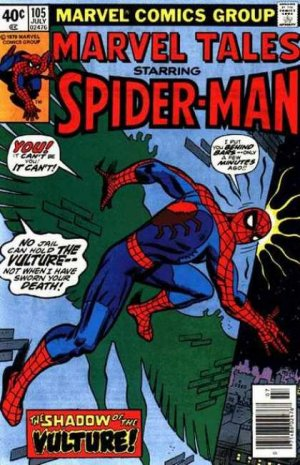 Marvel Tales 105 - The Vulture Hangs High!