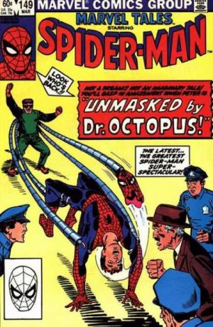 Marvel Tales 149 - Unmasked By Dr. Octopus!