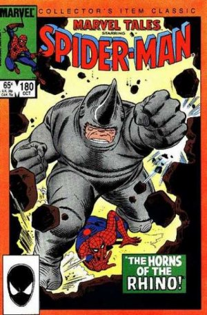 Marvel Tales 180 - The Horns of the Rhino!