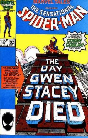 Marvel Tales 192 - The Day Gwen Stacy Died