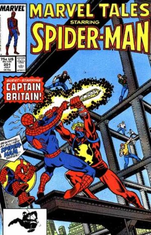 Marvel Tales 201 - Introducing, Captain Britain - Unlucky Buck$... or The Illeg...