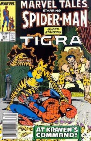 Marvel Tales 203 - Tigra, Tigra, Burning Bright