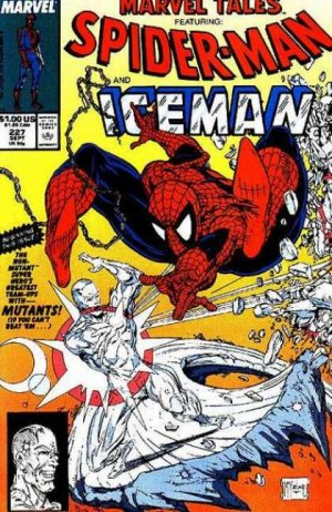 Marvel Tales 227 - When Iceman Attacks