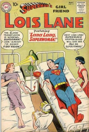 Superman's Girl Friend, Lois Lane # 17 Issues