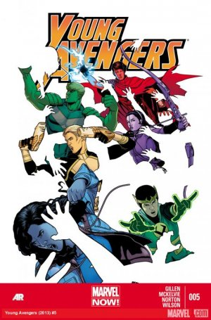 Young Avengers # 5 Issues V2 (2013 - 2014)