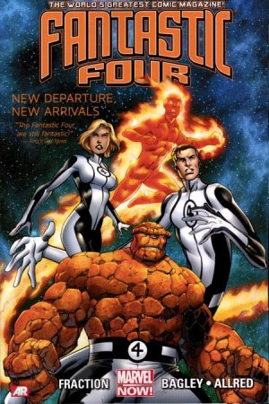 Fantastic Four édition TPB softcover V4 (2013 - 2014)