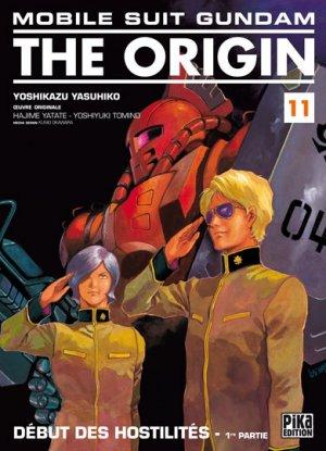 couverture, jaquette Mobile Suit Gundam - The Origin 11  (Pika)