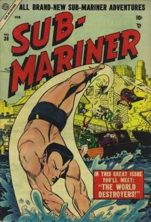 Submariner # 38 Issues (1941 - 1955)