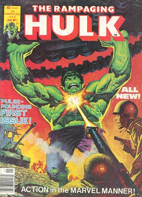 The Rampaging Hulk édition Issues V1 (1977 - 1978)