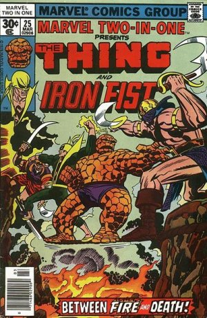 Marvel Two-In-One # 25