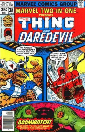 Marvel Two-In-One # 38 Issues V1 (1974 - 1983)