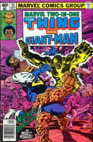 Marvel Two-In-One # 55 Issues V1 (1974 - 1983)
