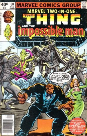 Marvel Two-In-One # 60 Issues V1 (1974 - 1983)