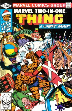 Marvel Two-In-One # 74 Issues V1 (1974 - 1983)