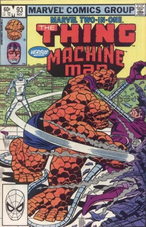 Marvel Two-In-One # 93 Issues V1 (1974 - 1983)