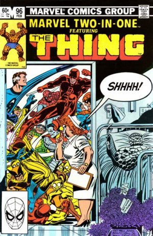 Marvel Two-In-One 96 - Visiting Hours!