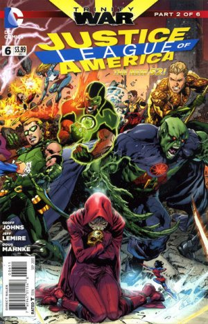 Justice League Of America # 6 Issues V4 (2013 - 2014)