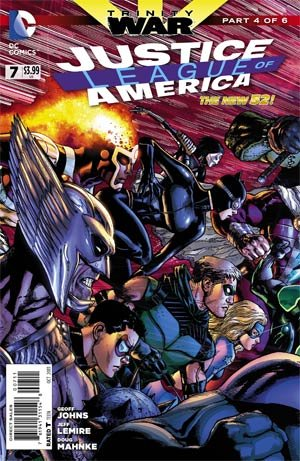 Justice League Of America # 7 Issues V4 (2013 - 2014)