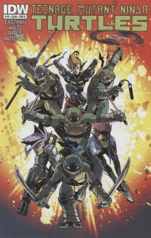 Les Tortues Ninja # 19 Issues V5 (2011 - ongoing)