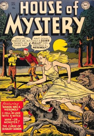 La Maison du Mystère édition Issues (1951 - 1983)