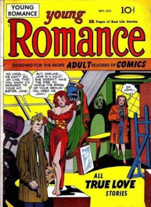 Young Romance édition Issues V1 (1947 - 1963)