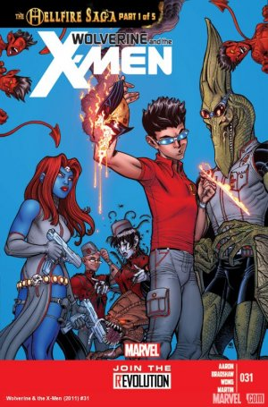 Wolverine And The X-Men # 31 Issues V1 (2011 - 2014)