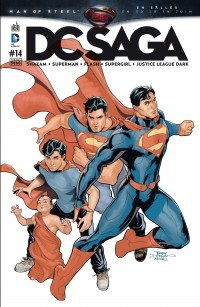 Justice League # 14 Kiosque mensuel