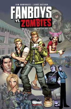 Fanboys vs Zombies édition TPB hardcover (cartonnée)