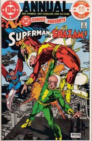 DC Comics presents # 3 Issues V1 - Annuals (1982 - 1985)