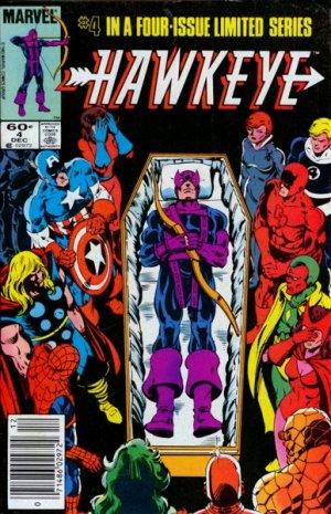 Hawkeye # 4 Issues V1 (1983)