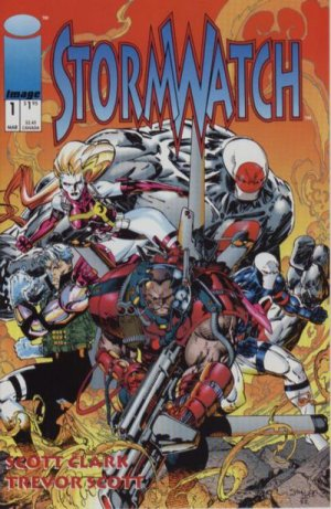 Stormwatch édition Issues V1 (1993 - 1997)