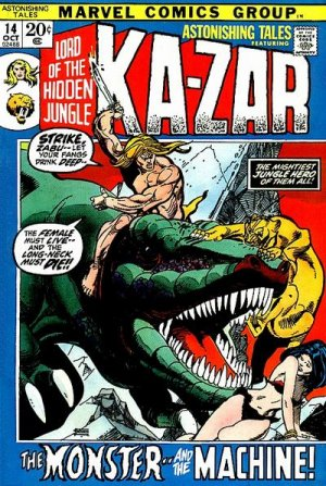 Astonishing Tales # 14 Issues V1 (1970 - 1976)