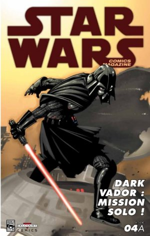 Star Wars comics magazine # 4