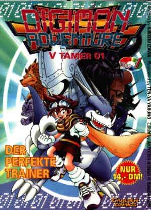 Digimon Adventure v-tamer 01 édition Allemande