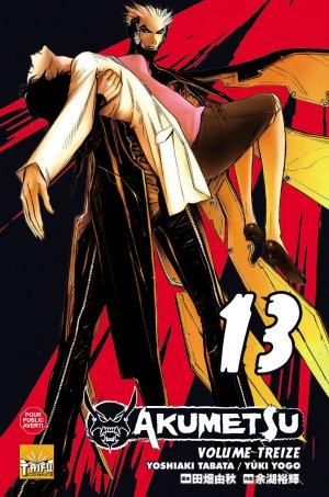 couverture, jaquette Akumetsu 13  (Taifu Comics)