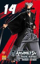 couverture, jaquette Akumetsu 14  (Taifu Comics)