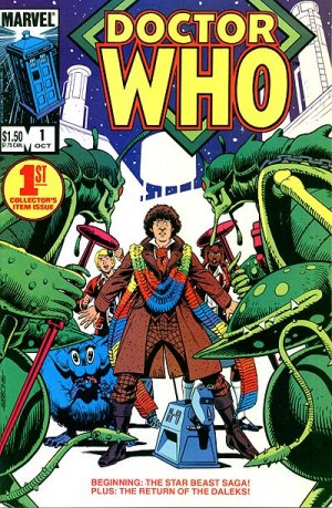 Doctor Who édition Issues V1 (1984 - 1986)