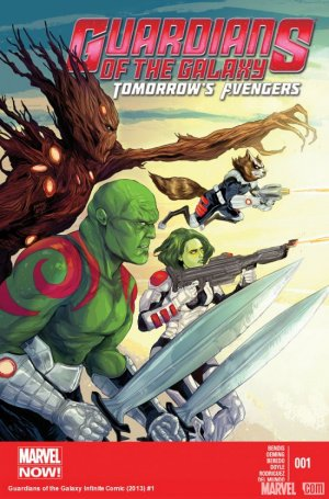 Guardians of the galaxy - Tomorrow's Avengers # 1 Issues
