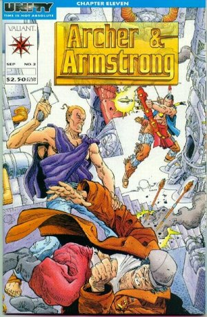 Archer and Armstrong # 2 Issues V1 (1992 - 1994)