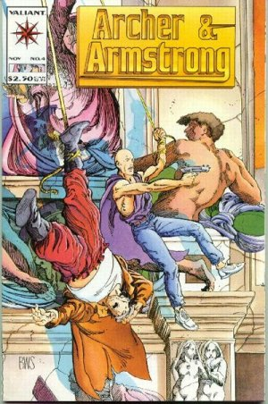 Archer and Armstrong # 4 Issues V1 (1992 - 1994)