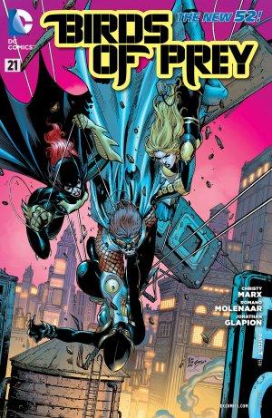 Birds of Prey # 21 Issues V3 (2011 - 2014)