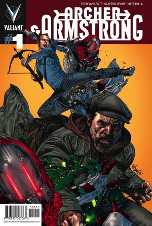 Archer and Armstrong édition Issues V2 (2012 - 2014)